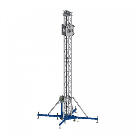 TORRES GROUND SUPPORT USANDO TRUSSES SERIE30